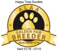 Gold paw