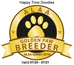 Happy Time Golden Paw Logo 2020